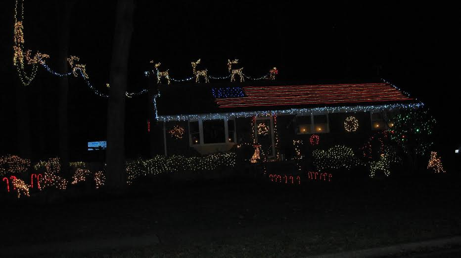 xmas lights 1st Place