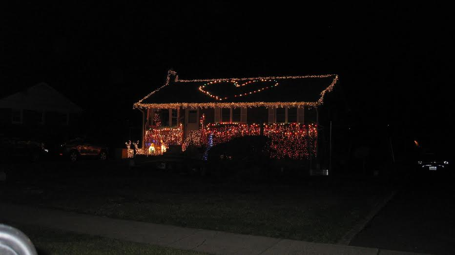 xmas lights 2nd place