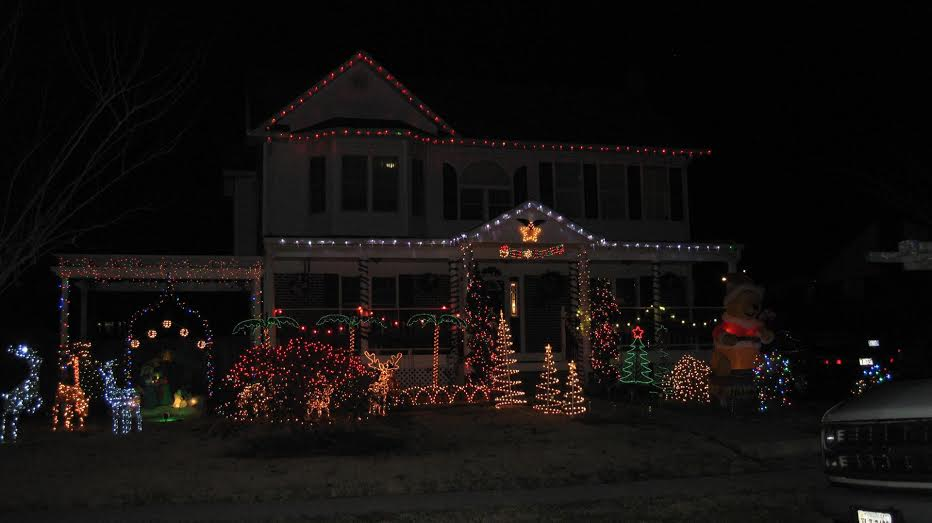 xmas lights 3rd place
